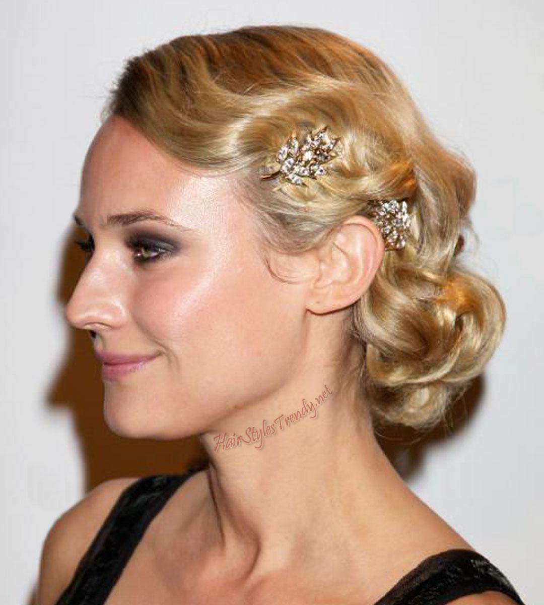 wedding updo hairstyles | fashion in wedding