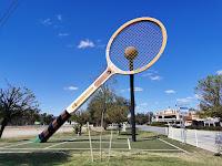BIG Tennis Racquet in Barellan