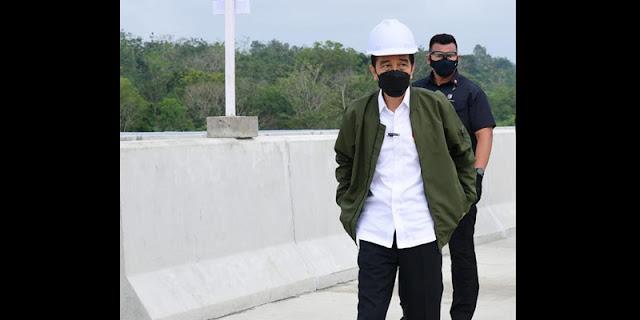 Jokowi: Konstruksi Tol Pekanbaru-Bangkinang Ditargetkan Selesai Desember 2021