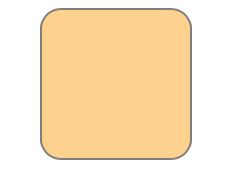 menggambar persegi dengan sudut melingkar menggunakan svg dasar html