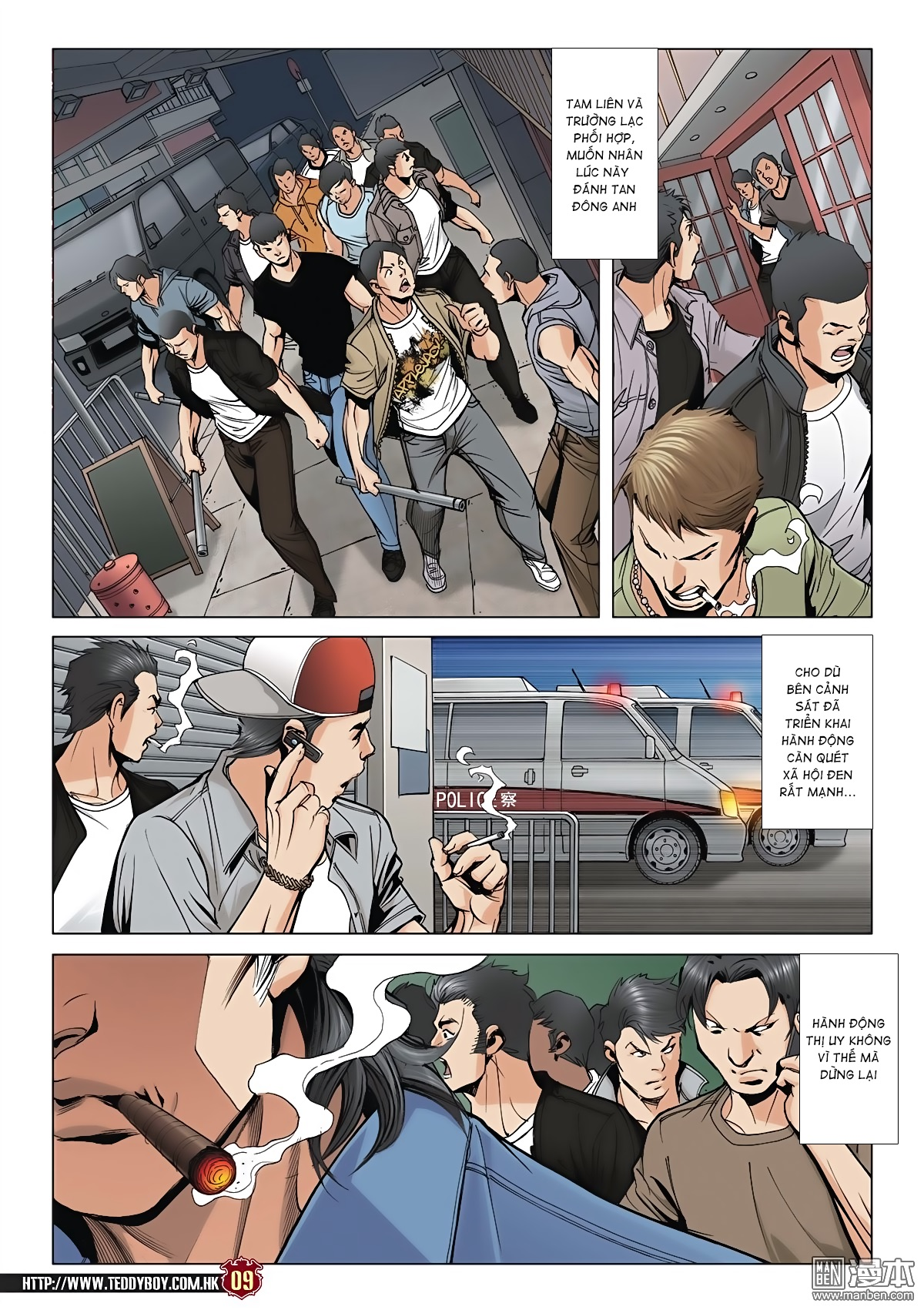 Người Trong Giang Hồ chapter 2045: câu chuyện thiên thu trang 8