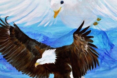 An Eagle Flying by Tammy Lang Jensen