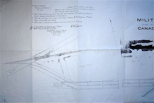 1898 Walker: Plan of Part of the Military Reserve . . . applied for by Canadian Pacific Railway Company, 3