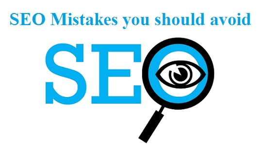 SEO Mistakes That Hurt Your SEO Ranking