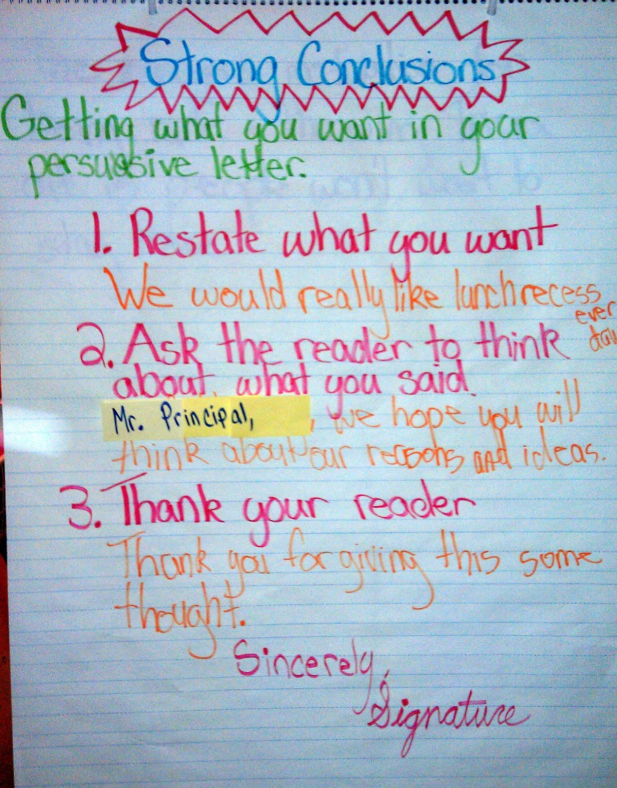 5th Grade Writing Example Persuasive Essay