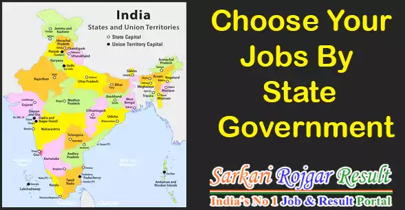 State Government Jobs - Get Latest Govt Job by State Government