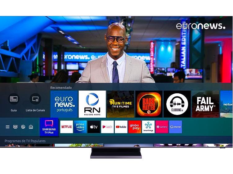Novos canais chegam à grade do Samsung TV Plus