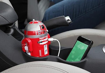 R2-D9 USB Car Recharger