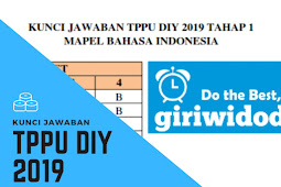 Kunci Jawaban TPPU DIY 2019 Bahasa Indonesia Tahap 1