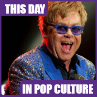 Elton John was born on March 25, 1947.
