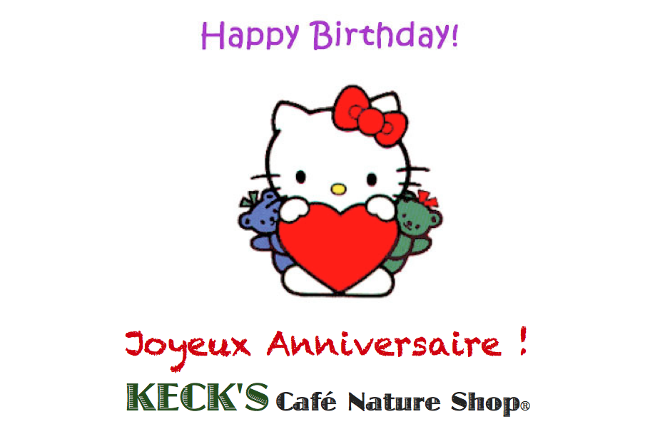 Happy Birthday To Keck S Caf 233 Nature Shop 174