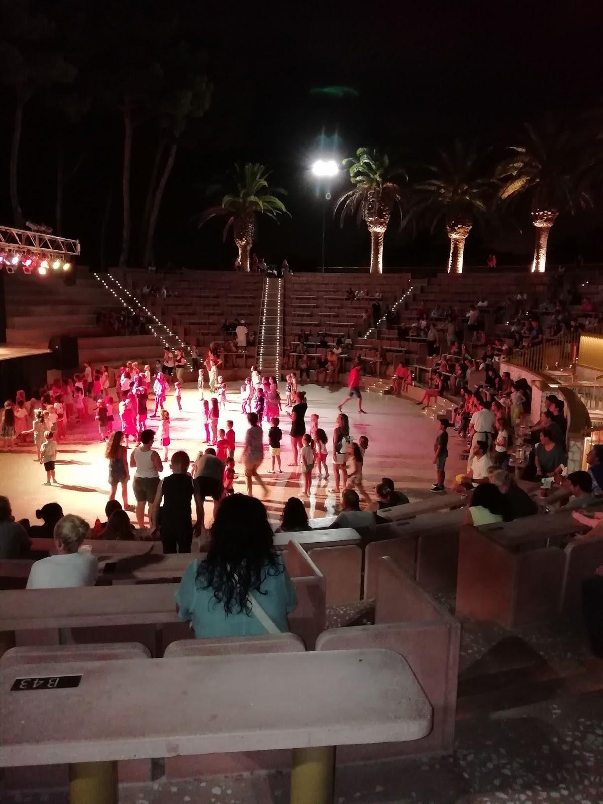 animacje w amfiteatrze