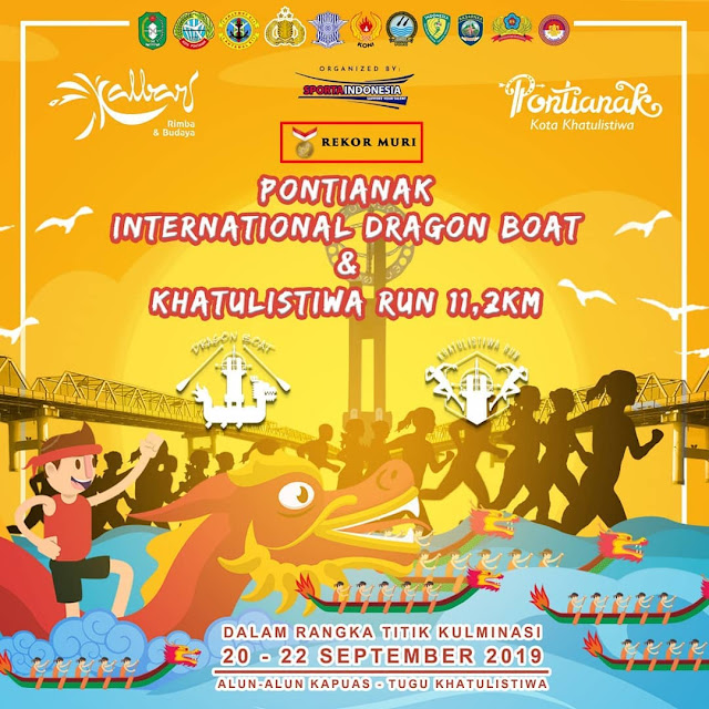 International Dragon Boat Festival Pertama di Pontianak