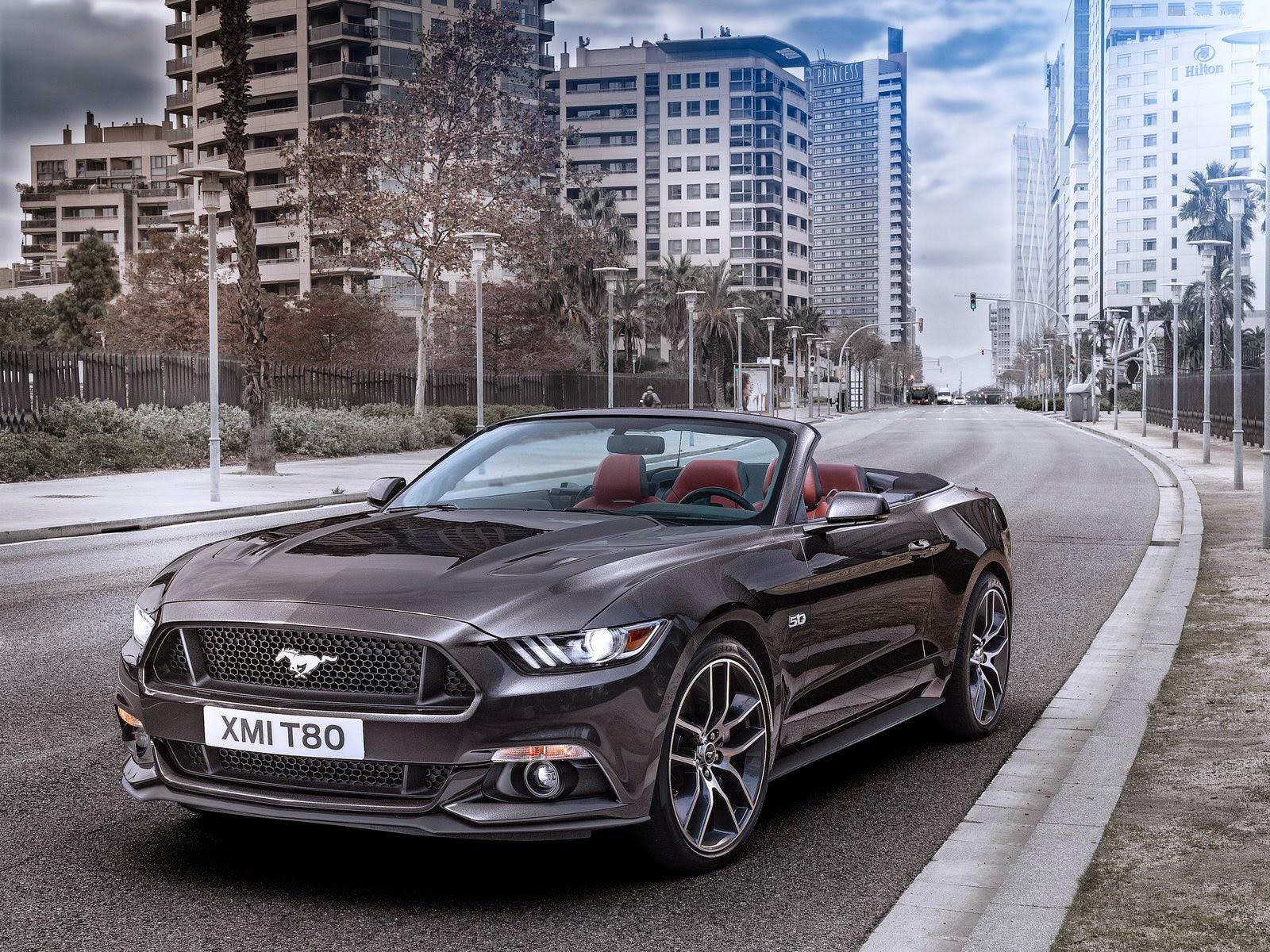 Ford Mustang Convertible wallpaper 福特野馬桌布 | Free HD Wallpapers