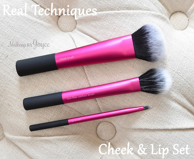 Real Techniques Cheek & Lip Brush Set Review Comparison