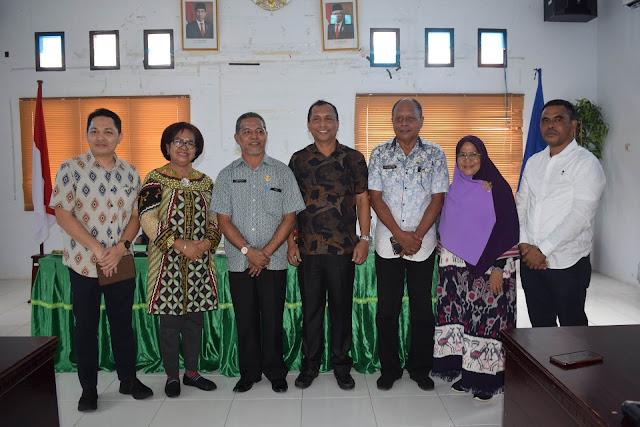 Titirloloby Terima Tim Kunker Komisi I dan IV DPRD Maluku ke Maluku Barat Daya