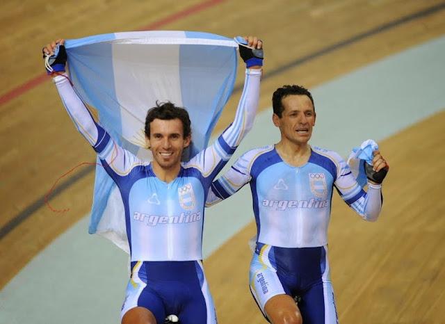 Walter Fernando Pérez y Juan Esteban Curuchet argentina ciclismo