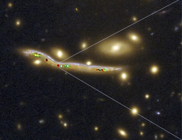 The stellar nurseries of distant galaxies