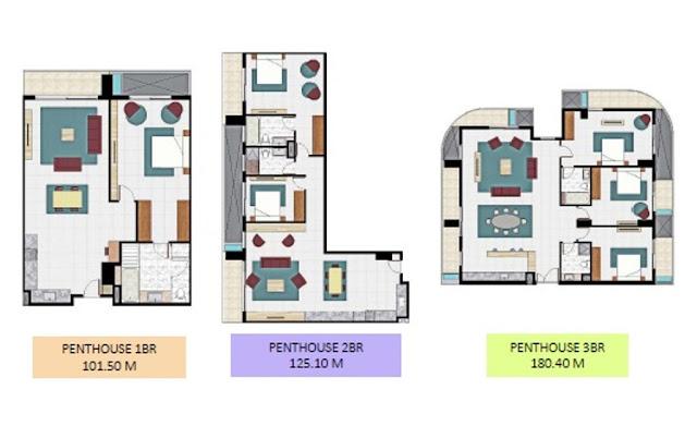 Apartemen Eureka Penthouse