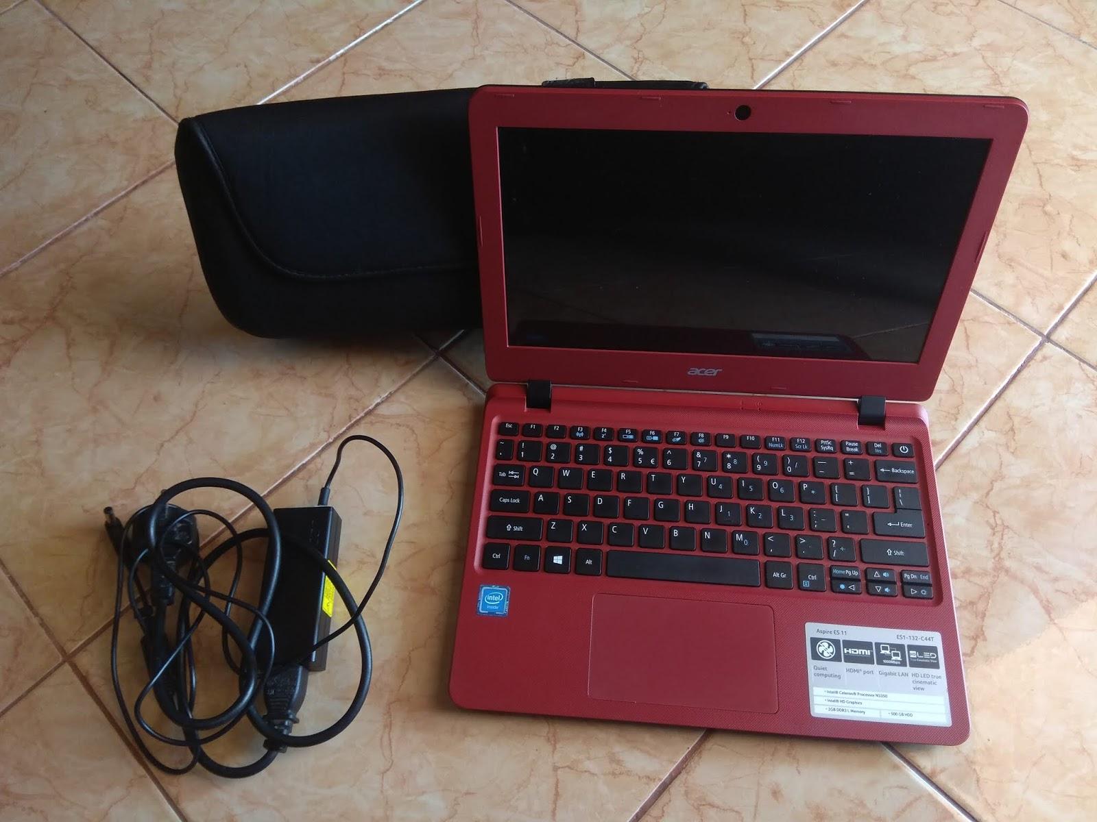 Jual Laptop Laptop Netbook Acer Aspire E3 11 132 Red