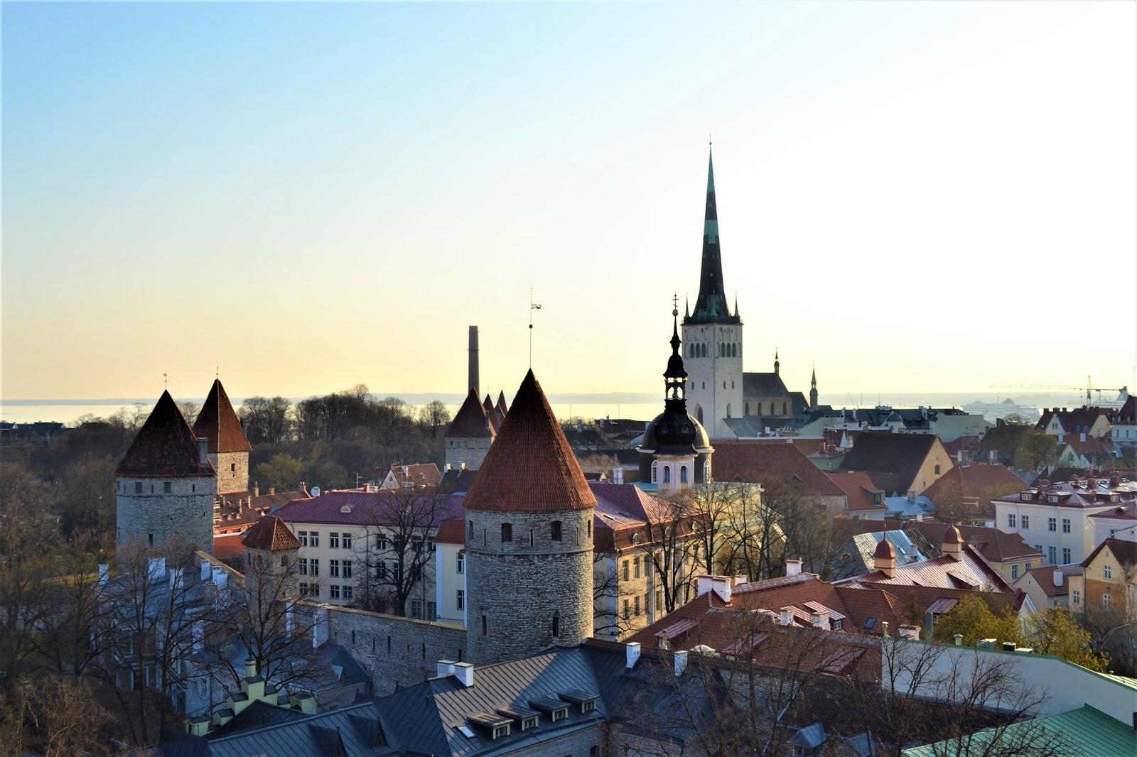 Panorama di Tallinn