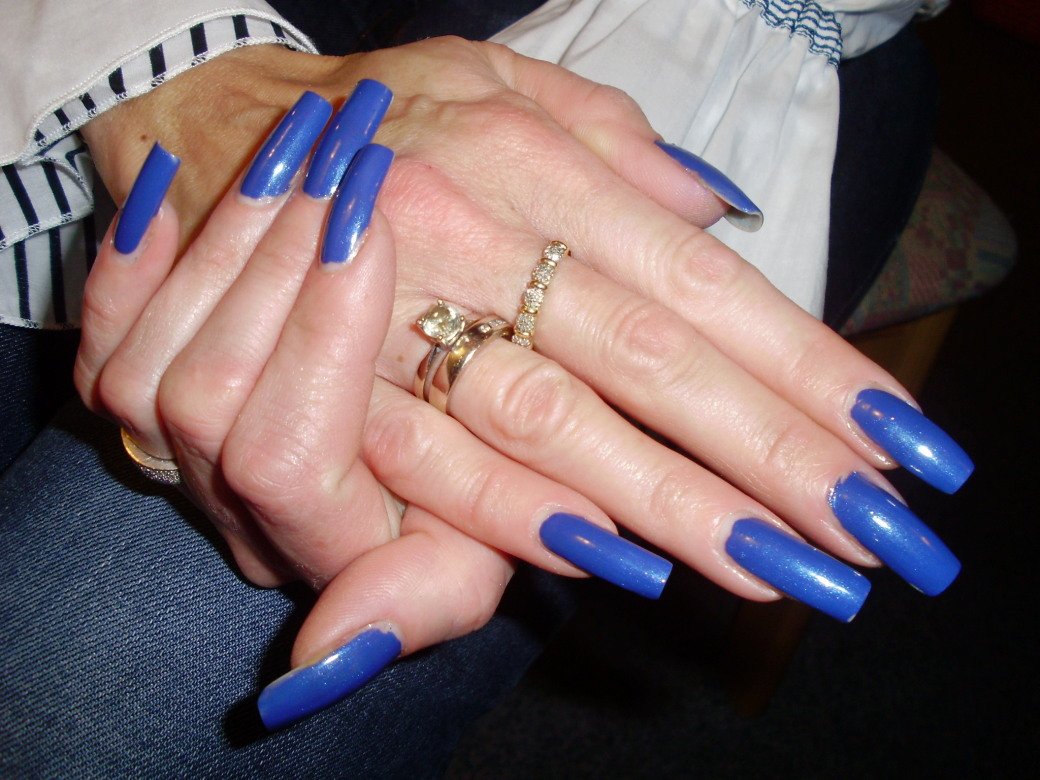 Long manicure ideas!