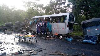 Número de paraibanos mortos sobe para 10 em acidente na BR-251 em Minas Gerais