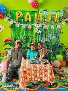 Kabiro Metroonline Kabupaten Lingga Rayakan Ulang Tahun Anak di Sekolah Paud