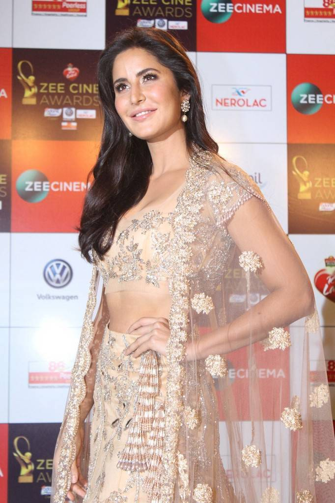 Katrina Kaif Sexy Photos In Ghagra At Zee Cine Awards 2018 -2418