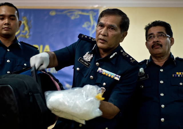 Drugs worth $161 million seized in Malaysia's biggest haul
