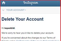 #Cara Menghapus Akun Instagram Permanen Dan Sementara