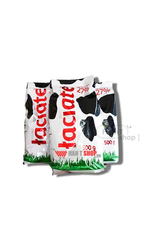 Sữa Tươi Dạng Bột Nguyên Chất Laciate 27% 500g