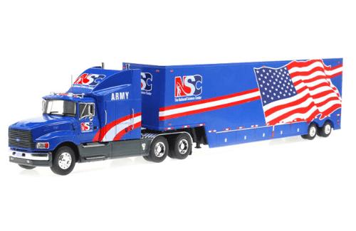 ford aeromax 120 1:43 the nacional science center, camiones 1:43, camiones americanos 1:43, coleccion camiones americanos 1:43, camiones americanos 1:43 altaya españa