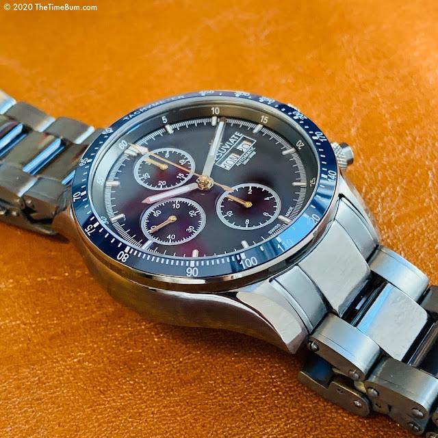Vesuviate Automatic Chronograph blue