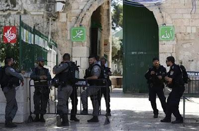 Jadi Target Serangan Yahudi, Al Aqsa Ditutup untuk Non-Muslim