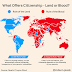 Places where birthright Citizenship is based on land and places where it is based on blood (Picture)