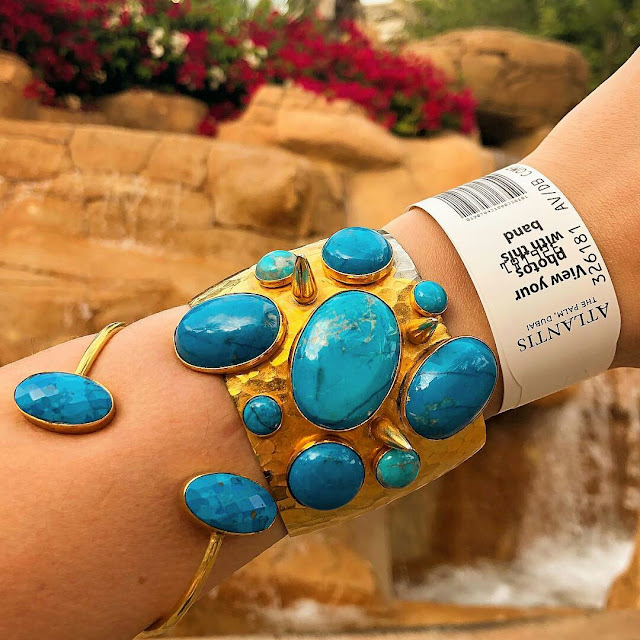 Mama Mia, colours, turquoise, turquoise cuff, Mediterranean colours, summer accessories