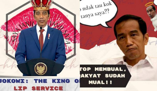 Meme BEM UI Cuma Ingetin Jokowi Agar Komitmen dengan Janji