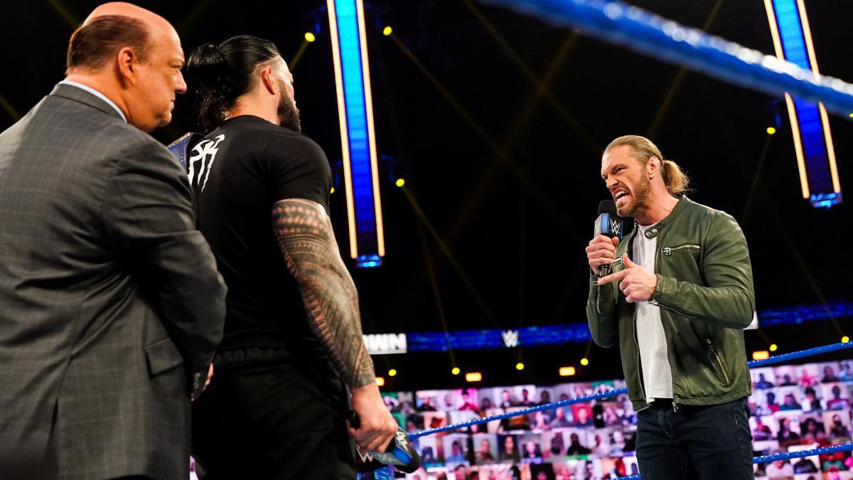 Edge destrói Roman Reigns e anuncia que o enfrentará na WrestleMania 37
