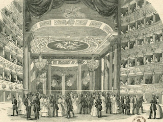 The Teatro Apollo in Rome as it would have looked when Tamberlik was enjoying peak popularity