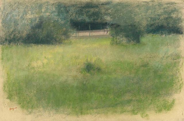 Эдгар Дега - Трава и подлесок (1890-1893)