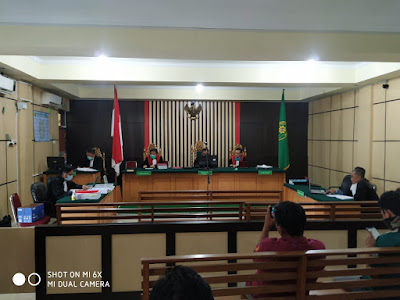 Online, Suyadi Mantan Kadis PMD Tebo Dituntut 4 Tahun 6 Bulan