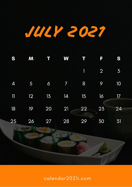 July-2021-Calendar