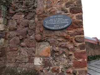 Old City Wall, Exeter