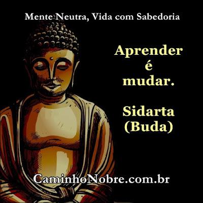 Aprender é mudar Sidarta Buda