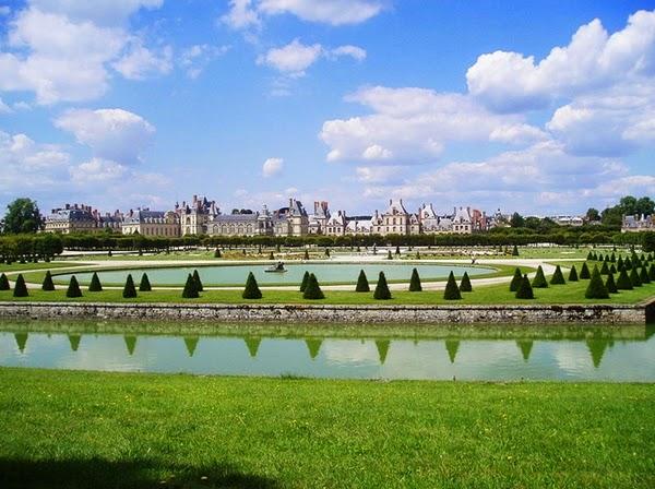 Fontainebleau-castel-Franta