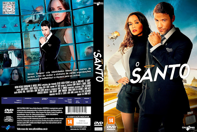 Capa DVD O Santo [Exclusiva]