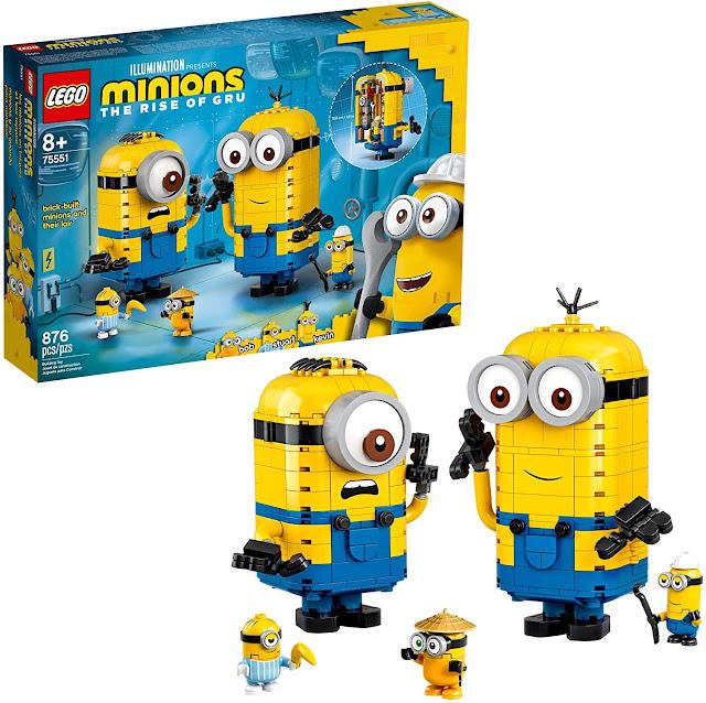 Lego Minions (who love Minions)