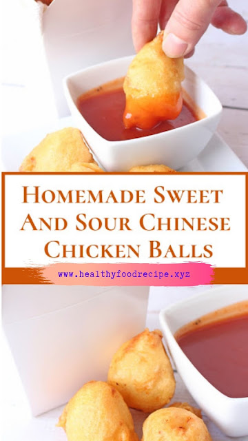 Homemade Sweet And Sour Chicken Balls
