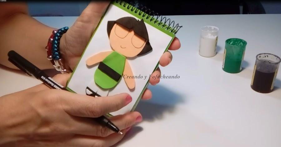 pintando-como-hacer-a-las-supernena-cactus-en-goma-eva-creandoyfofucheando